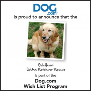 Dog.com wish list program