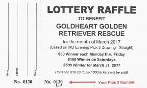 GH March Lottery Raffle