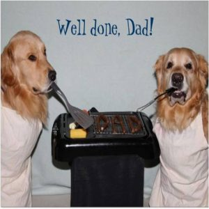 dog's grilling